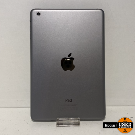 Apple iPad Mini 1 16GB Wifi Space Gray incl. Lader