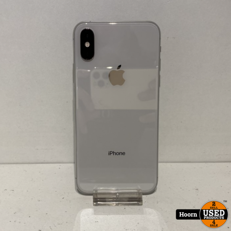 iPhone XS 64GB Silver Los Toestel incl. Lader Accu: 84%