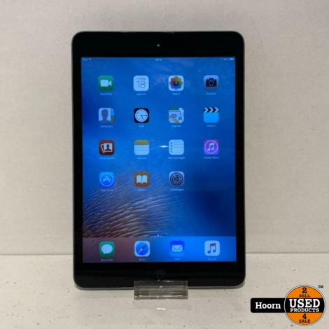 Apple iPad Mini 1 16GB WiFi Silver incl. Lader in Nette Staat