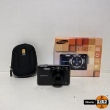 Samsung ES67 Digitale Camera 10.2MP Compleet in Doos met Hoes