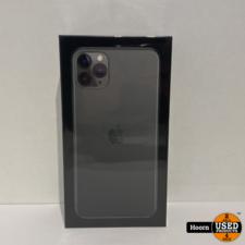 iPhone 11 Pro Max 64GB Midnight Green Nieuw in Seal met Bon