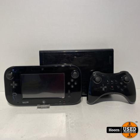 Nintendo Wii U Zwart 32GB Compleet incl. GamePad