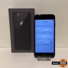 Apple iPhone iPhone 8 64GB Space Gray Compleet in Doos Accu: 100%