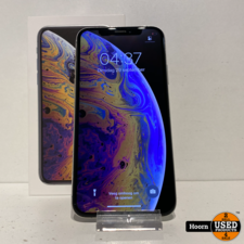 iPhone XS 64GB Silver Compleet in Doos in Nette Staat Accu: 90%