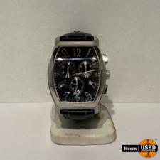 Guess Guess 111525g1 Heren Horloge Lederen Band