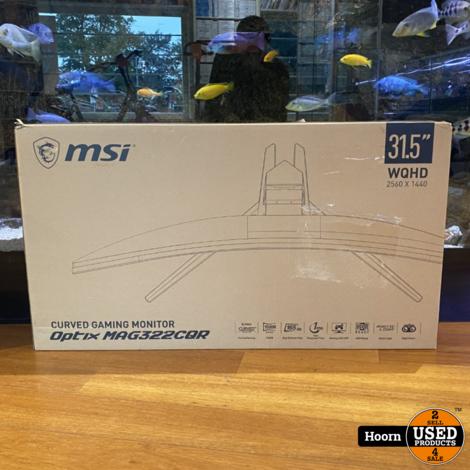 MSI Optix MAG322CQR 31,5'' QHD Curved Gaming Monitor Nieuw in Doos