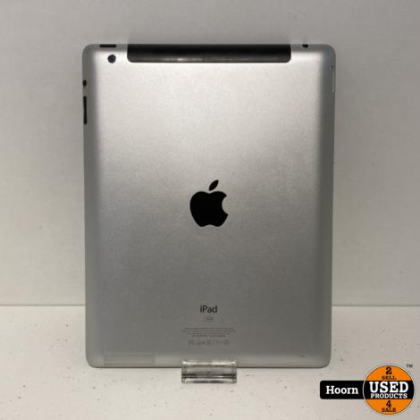 Apple iPad 3 16GB Wifi + 3G Zwart incl. Lader