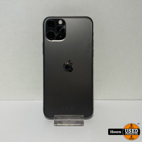 iPhone 11 Pro 64GB Space Gray Los Toestel incl. Lader Accu: 89%