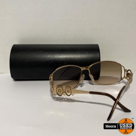 Cazal 9017 Special Gold Dames Zonnebril in Koker