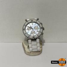 Guess Guess GC 143001M1 Ceramic Dames Horloge