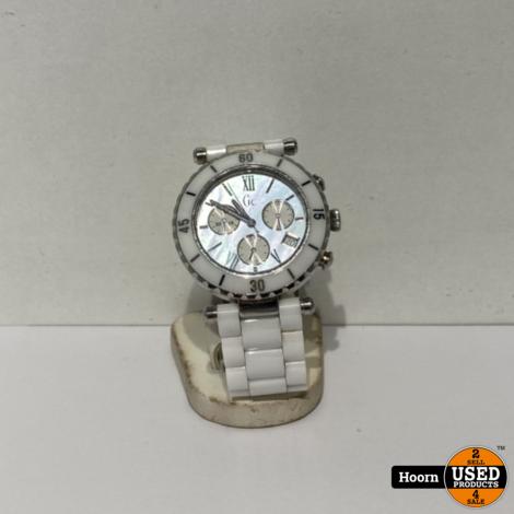 Guess GC 143001M1 Ceramic Dames Horloge