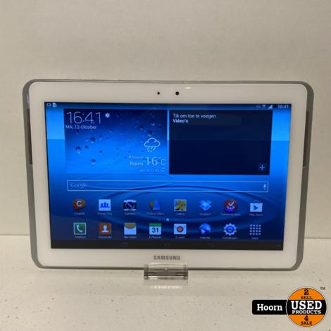Samsung Galaxy Tab 2 10.1'' 16GB Wifi + 3G Wit incl. Lader