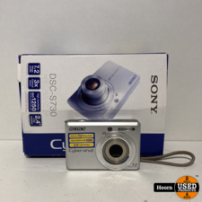 sony Sony c 7.2MP Digital Camera Silver in Doos