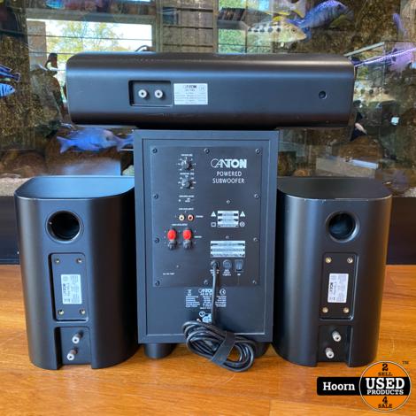 Canton 3.1 Speaker Set met Subwoofer (AV 700 Center Speaker, 2x Plus XXL.2 en AS 60 SC Subwoofer)