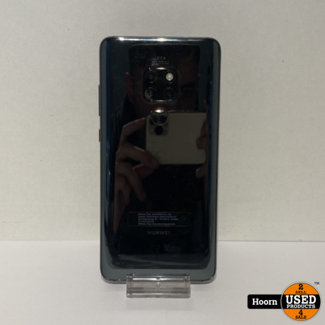 Huawei Mate 20 128GB Zwart Los Toestel incl. Lader