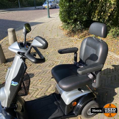 Kymco Midi XLS Scootmobiel Glossy Black met Dubbele Sleutels en Lader in Zeer Nette Staat