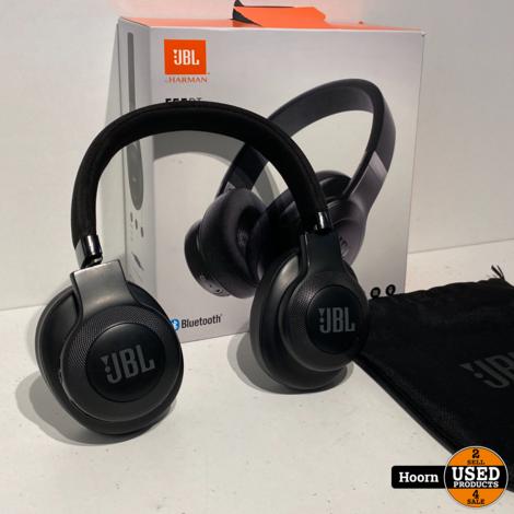 JBL E55BT Wireless Over-Ear Bluetooth Koptelefoon Zwart Compleet in Doos