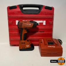 Hilti Hilti SID 121-A Schroefmachine incl. 1x 12V 3.0Ah Accu en Lader in Koffer