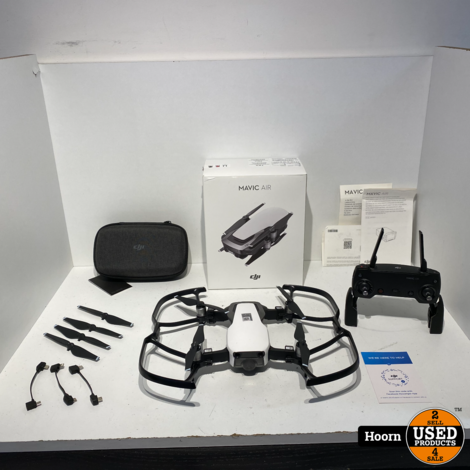 DJI Mavic Air Arctic White Drone ZGAN Compleet in Doos