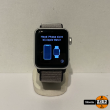 Apple Watch Apple Watch Series 3 38mm Silver Incl. Lader