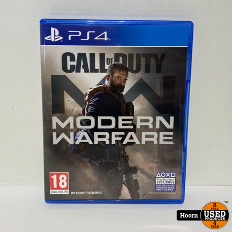 Playstation 4 Game: Modern Warfare