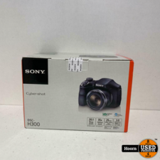 sony Sony CyberShot DSC-H300 Zwart 20.1MP Compact Camera Nieuw in Doos