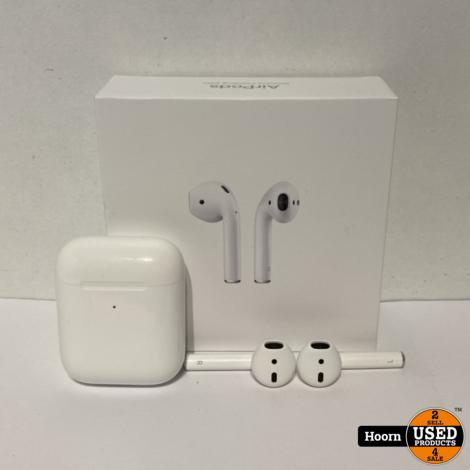 Apple AirPods 2 met Draadloze Oplaadcase Compleet in Doos in Zeer Nette Staat