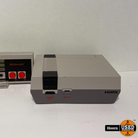 Nintendo NES Classic Mini Compleet incl. 2 Controllers