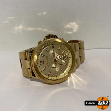 Michael Kors MK8278 Horloge Goudkleurig Los