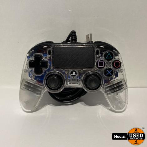 Nacon Compact Bedrade Controller PS4 Blauw Transparant