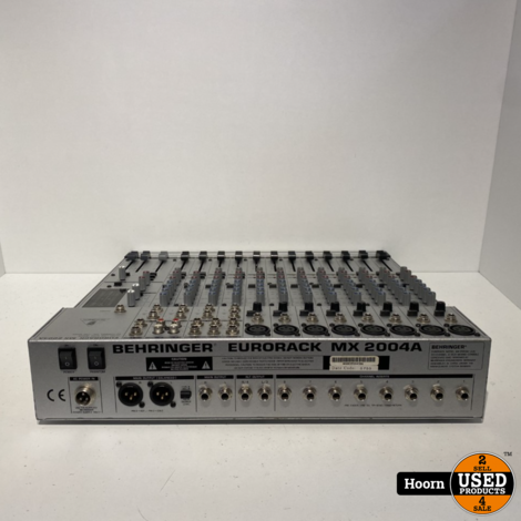 Behringer Eurorack MX2004A 20-Channel 4-Bus Mixer