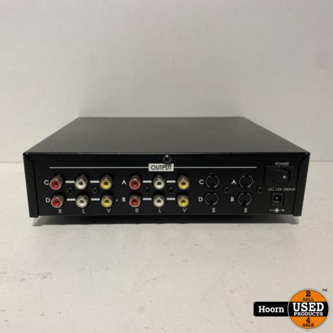 DataVideo VP-299 Audio/Video Distribution Amplifier 4 ouputs