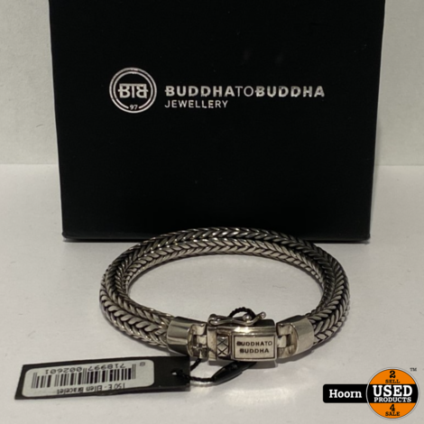 Buddha to Buddha 150 E Ellen Armband 925 19CM ZGAN in Doos