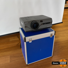 sony Sony VLP-X600 LCD Beamer Projector Compleet in koffer