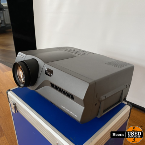 Sony VLP-X600 LCD Beamer Projector Compleet in koffer