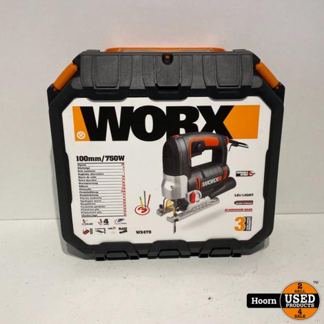 Worx WX479 750W Decoupeerzaag Nieuw in Koffer