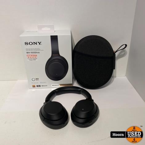 Sony WH-1000XM3 Zwart Draadloze Noise Cancelling Koptelefoon ZGAN Compleet in Doos