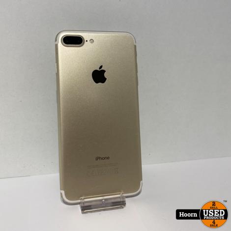 iPhone 7 Plus 32GB Gold Los Toestel incl. Lader Nieuwe Accu: 100%