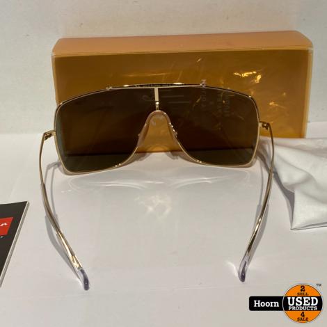 Ray-Ban Honey Dijon Wings II RB-3697-K 24K Gold Plated Zonnebril Nieuw 9094/03