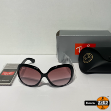 Ray-Ban Ray-Ban RB4098 Jackie OHH II Zonnebril Nieuw 601/8H 60/14
