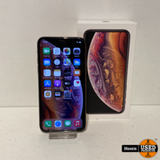 Apple iPhone iPhone XS 64GB Gold in Doos incl. Lader Accu 87% in Nette Staat