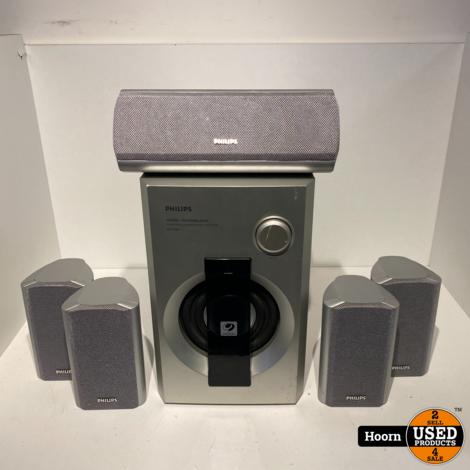 Philips W00x 5.1 Surround Speaker Set Met SW 966 Sub
