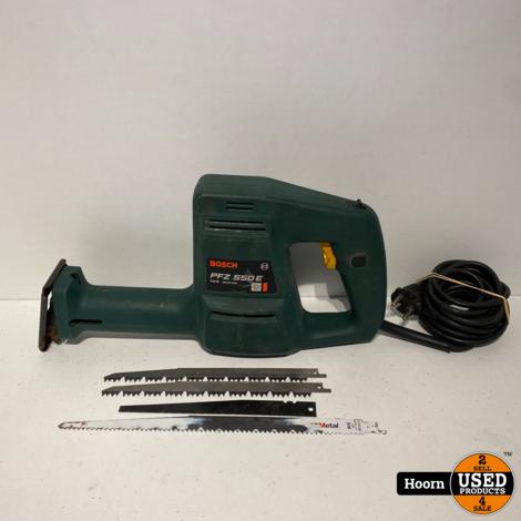 Bosch PFZ 550 E Reciprozaag incl. Zaagblaadjes