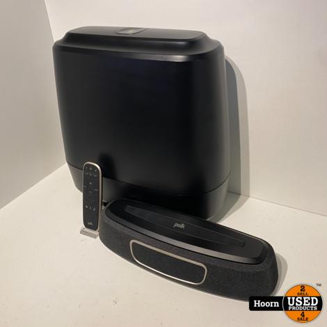 Polk Audio MagniFi Mini Draadloze Soundbar 150W Zwart Met Afstandsbediening