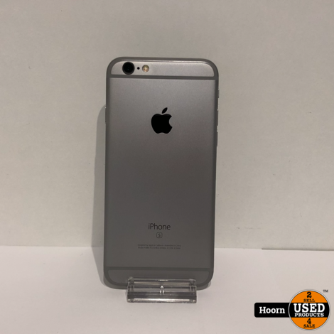 iPhone 6S 32GB Space Gray Los Toestel incl. Lader Accu: 95%