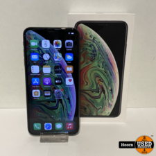 Apple iPhone iPhone XS Max 256GB Space Gray in Doos incl. Lader in Zeer Nette Staat Accu: 92%