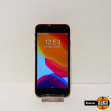 iPhone SE 2020 128GB RED Los Toestel incl. Lader Accu 100%