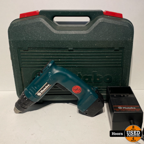 Metabo D-72622 Schroef Boormachine 7.2V incl. Accu en Acculader in Koffer