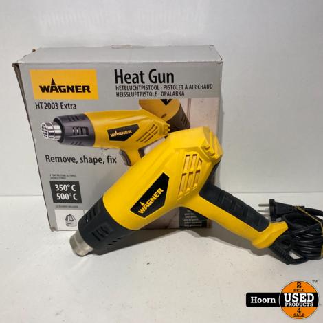 Wagner 2386749 HT 2003 Extra Heat Gun 1600Watt in Doos