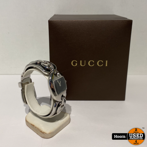 Gucci 121.5 MOP Marina Chain YA121501 Dames Horloge in Doos